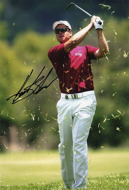Henrik Stenson, Swedish golfer, signed 12x8 inch photo.